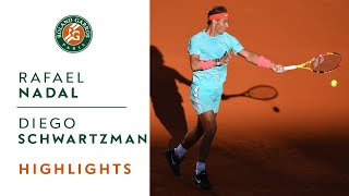 Rafael Nadal vs Diego Schwartzman - Semi-final Highlights I Roland-Garros 2020