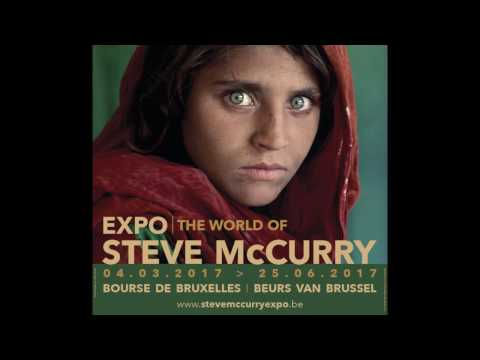 "TEASER - Expo ""The World of Steve McCurry"""