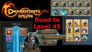 Drakensang Online - Folterknecht96: Road to Level 45 :)