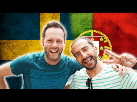 SWEDISH VS PORTUGUESE -  Language Challenge