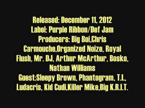 Mistah Lou's Top 20 Rap Albums of 2012