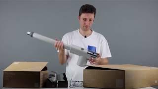 Video: Automatizare porti batante 2x3m 230V Nice TOO3000KCE basic