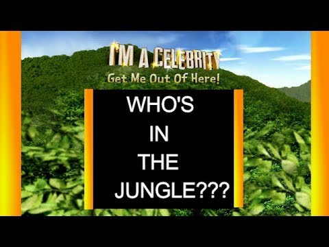 Full Lineup for I'm a Celebrity 2017 / I'm A Celebrity... Get Me Out Of Here!  Im a celeb 17 ITV
