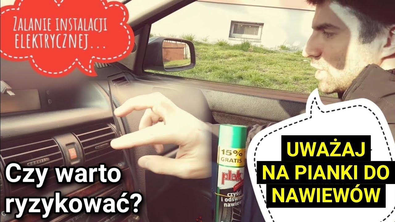 Nie Używaj Pianki do Czyszczenia Nawiewów w Samochodzie!