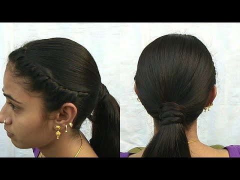 Easy Cute Hairstyle For Girls Beautiful Hairstyle In Just 2 Min