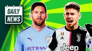 Lionel Messi's FREE TRANSFER to Man City + Jorginho to Juventus ► Daily News