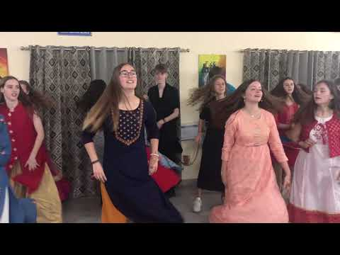 Chogada tara dance with belgium student's choreography Anil Rathore || st Mark's school
