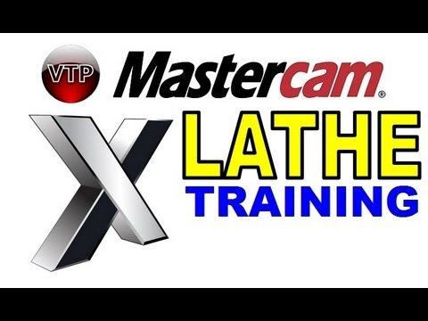 mastercam x1 x7 lathe tutorial in hd 1 7 roughing Mastercam Lathe Tutorial Mastercam Lathe Draw