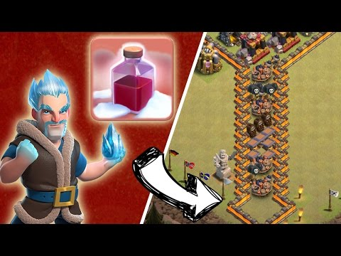 EISMAGIER + SANTA SPELL vs. TROLL BASE! || CLASH OF CLANS || Let's Play CoC [Deutsch German]