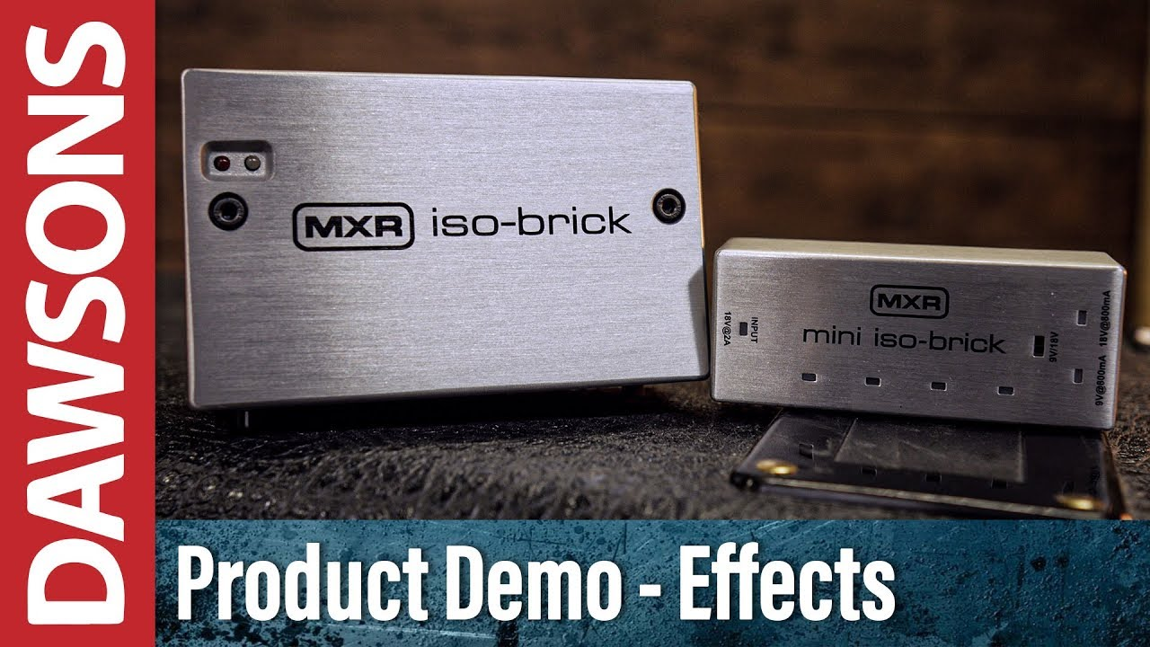 MXR ISO-Brick Pedal Power Supply Overview
