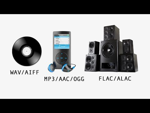 MP3 vs FLAC vs WAV vs AAC - Audio File Formats Explained
