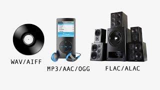 MP3 vs FLAC vs WAV vs AAC - Audio File Formats Explained
