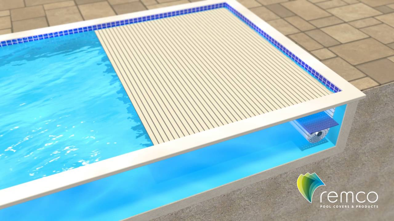 automatic pool covers. Remco Pool Covers - Swimroll In-Pool Automatic Cover System