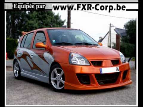 renault clio ii lifting tuning youtube. Black Bedroom Furniture Sets. Home Design Ideas