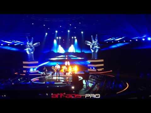 ArKaos MediaMaster Pro at The Voice Belgium
