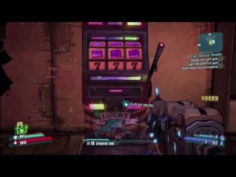 borderlands 2 slot machine glitch legendary guns every time