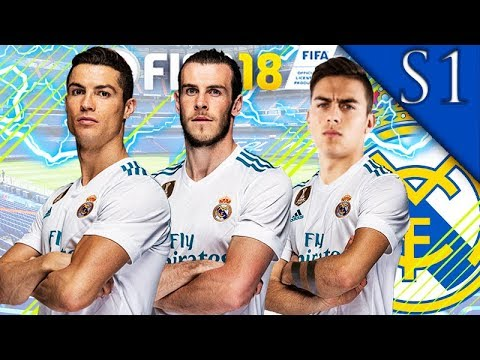 DYBALA, KANTE SIGN! FIFA 18: REAL MADRID CAREER MODE S1 #1