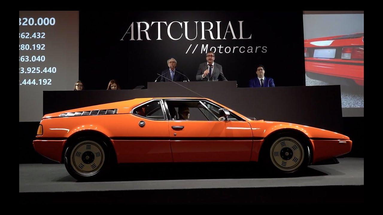 Vente Artcurial : BMW M1 (1980)