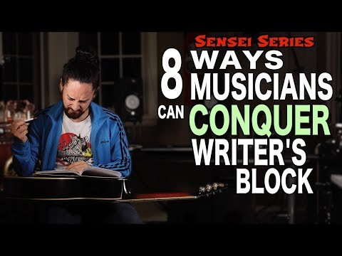 8 Ways Musicians Can Conquer Writer's Block Mp3