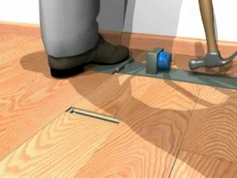 How To Install A Hardwood Laminate Floor Special Tools