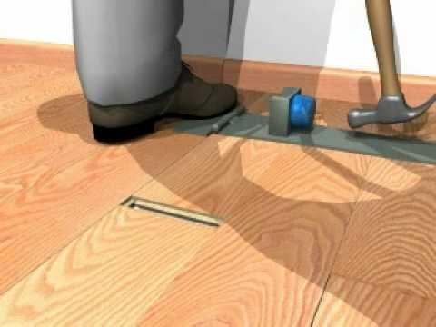 QuickStep Laminate Flooring Installation  Unifix Tool