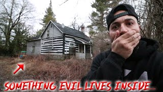 WE ENCOUNTERED SOMETHING EVIL IN THIS HAUNTED HOUSE IN THE FOREST!