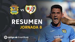 Resumen de CF Fuenlabrada vs Rayo Vallecano (2-2)