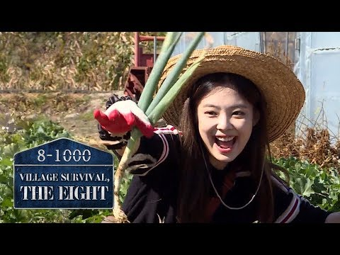 Jennie 'I'm afraid the spring onions will get hurt.. 😔' [Village Survival, the Eight Ep 3]