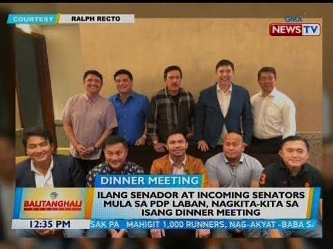 BT: Ilang senador at incoming senators mula sa PDP Laban, nagkita-kita sa isang dinner meeting