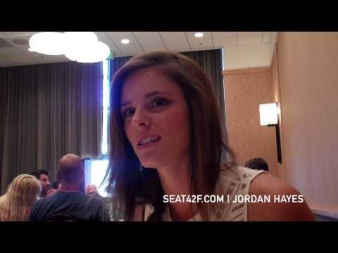 Jordan Hayes HELIX  Comic Con 2014