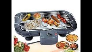 Electric Barbecue Grill. Electric BBQ grill machine Review. How to use Electric BBQ grill machine.