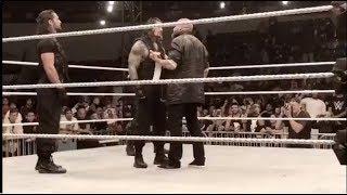 Triple H Confronts Roman Reigns Triple H Crashes The Shield's Party...
