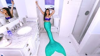 24 Hours in a Mermaid Tail