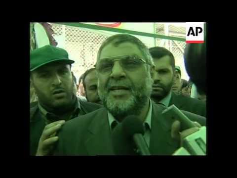 Interviews with Rantisi, Arafat, Qureia