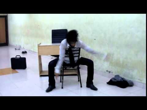 Aman Aujla (ludhiana)  Dance performance (Office life)