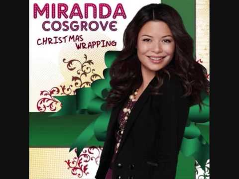 Miranda Cosgrove Christmal Wrapping