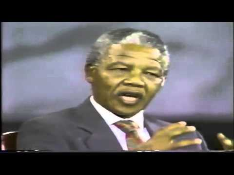 Rare Video: Nelson Mandela Speaking on Palestine [Extracts]