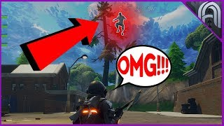 JUMP HIGHER!! The Secret Trick to Fly Through the Air in Fortnite Battle Royale!