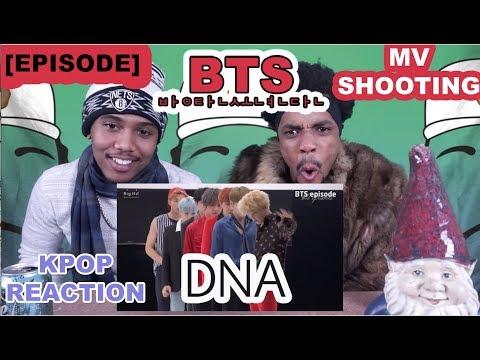 [EPISODE] BTS (방탄소년단) 'DNA' MV Shooting | REACTION