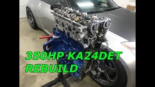 240SX KA24DET Engine Rebuild pt.3 Assembly