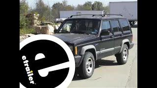 Trailer Hitch Installation - 1997 Jeep Cherokee - etrailer.com