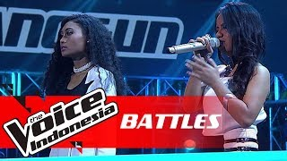 "Novi vs Adinda ""Beautiful"" | Battles | The Voice Indonesia GTV 2018"