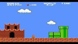 полное прохождение Super Mario Bros. - все уровни