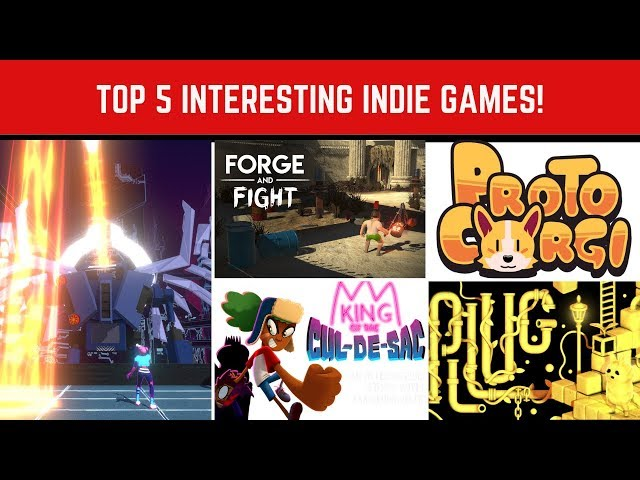 Top 5 interesting Indie games - March 2019