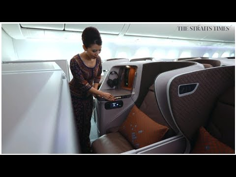 Singapore Airlines flights on latest Dreamliner to feature bigger entertainment screens, upgraded...