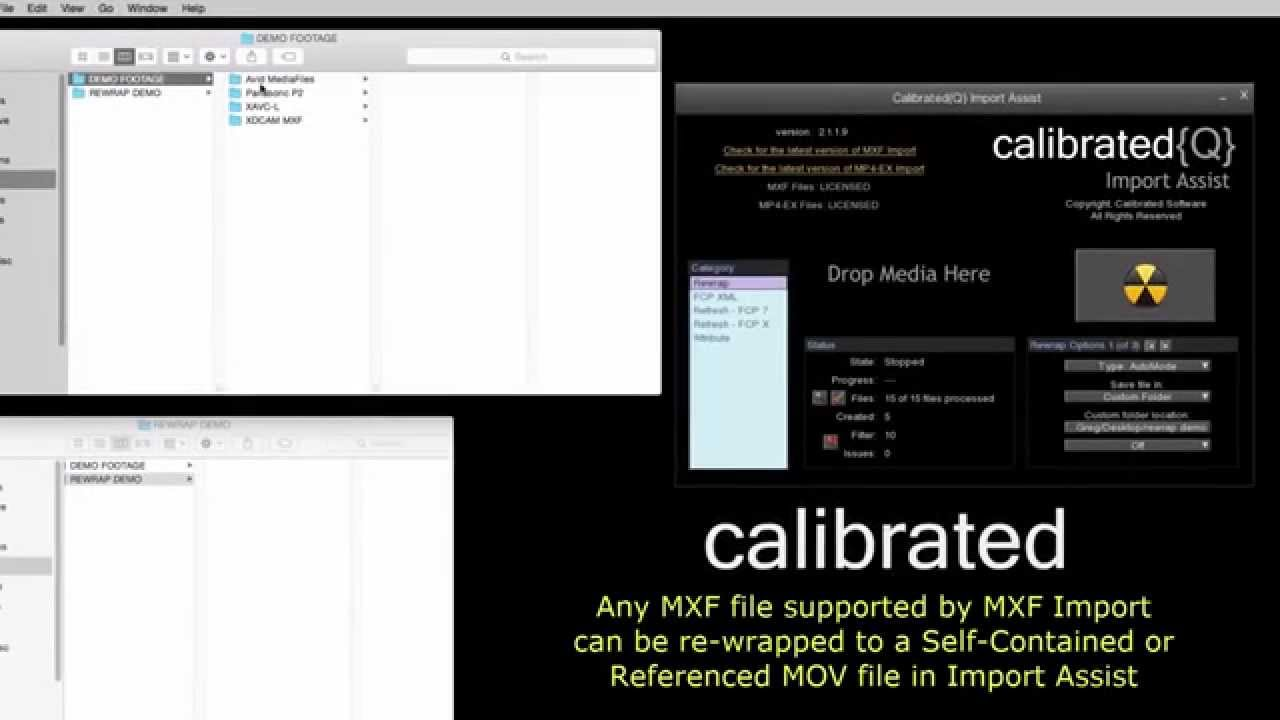 Calibrated Product Info for FCP 7