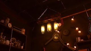 видео Светильники, люстры и лампы из бутылок своими руками
