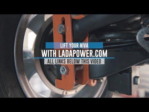 Lada Niva 4x4 Urban Taiga Tuning Lift Kit Installation Guide Ladapower.com