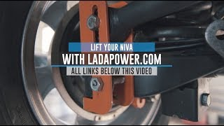 Lada Niva 4x4 Urban Taiga Tuning Lift Kit Installation Guide Ladapower.com