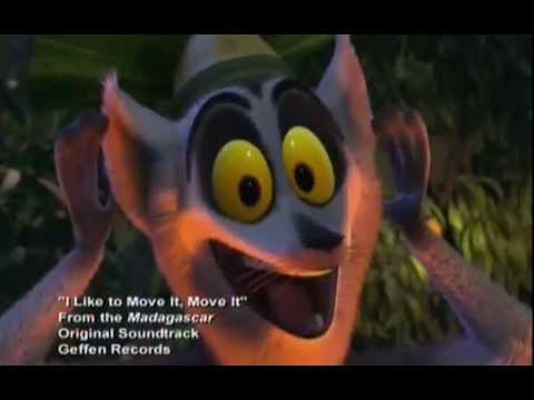 Детские песенки - Madagaskar - I Like To Move It, Move It